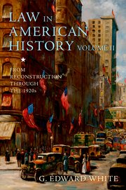Cover for   Law in American History, Volume II