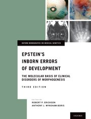 Cover for   Epsteins Inborn Errors of Development