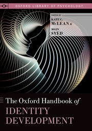Cover for   The Oxford Handbook of Identity Development