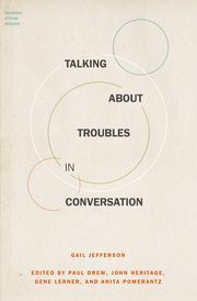 Cover for   Talking About Troubles in Conversation