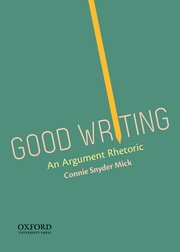 Cover for   Good Writing