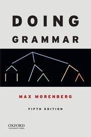 Cover for   Doing Grammar