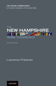 Cover for   The New Hampshire State Constitution
