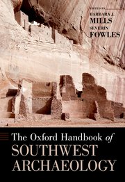 Cover for   The Oxford Handbook of Southwest Archaeology