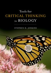 Cover for   Tools for Critical Thinking in Biology