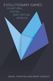 Cover for   Evolutionary Games in Natural, Social, and Virtual Worlds