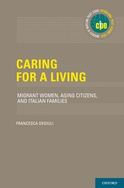 Cover for   Caring for a Living