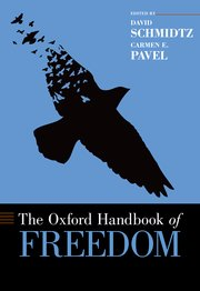 Cover for   The Oxford Handbook of Freedom