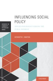 Cover for   Influencing Social Policy