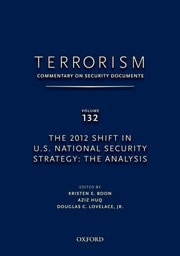 Cover for   TERRORISM: COMMENTARY ON SECURITY DOCUMENTS VOLUME 132
