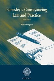 Cover for   Barnsleys Conveyancing Law and Practice