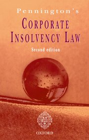 Cover for   Penningtons Corporate Insolvency Law