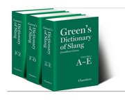 Cover for   Greens Dictionary of Slang