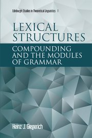 Cover for   Lexical Structures