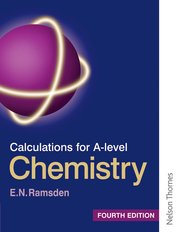 Cover for   Calculations for A Level Chemistry Fourth Edition