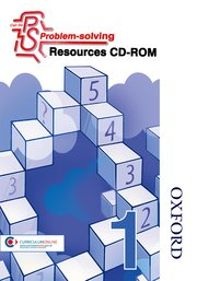 Cover for   Can Do Problem Solving Year 1 Resources CD-ROM