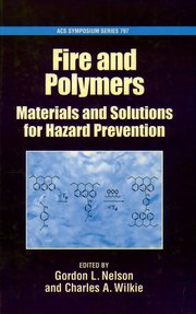 Cover for   Fire and Polymers