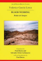 Cover for   Lorca: Blood Wedding