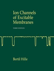 Cover for   Ion Channels of Excitable Membranes