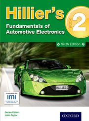 Cover for   Hilliers Fundamentals of Automotive Electronics Book 2 Sixth Edition