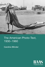Cover for   The American Photo-Text, 1930-1960