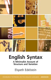 Cover for   English Syntax