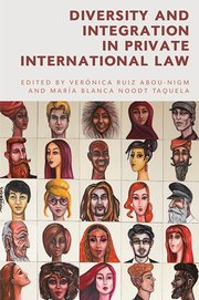 Cover for   Diversity and Integration in Private International Law