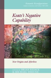 Cover for Keatss Negative Capability