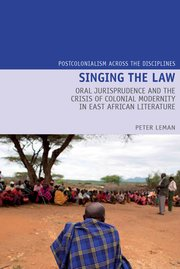 Cover for   Singing the Law