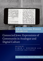 Cover for   Connected Jews