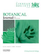 Cover for Botanical Journal of the Linnean Society