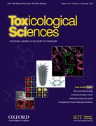 Cover for Toxicological Sciences