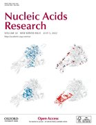 Cover for Nucleic Acids Research