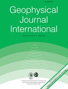 Cover for Geophysical Journal International
