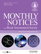 Cover for Monthly Notices of the Royal Astronomical Society