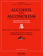 Cover for Alcohol and Alcoholism