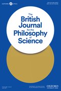 Cover for The British Journal for the Philosophy of Science