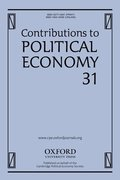 Cover for Contributions to Political Economy