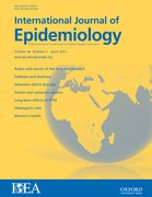 Cover for International Journal of Epidemiology