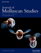 Cover for Journal of Molluscan Studies