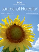 Cover for Journal of Heredity