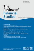 Cover for The Review of Financial Studies
