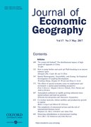 Cover for Journal of Economic Geography