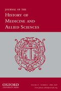 Cover for Journal of the History of Medicine and Allied Sciences
