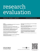 Cover for Research Evaluation