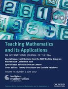 Cover for Teaching Mathematics and its Applications: An International Journal of the IMA