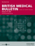 Cover for British Medical Bulletin