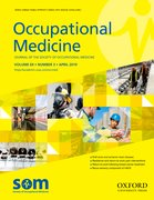 Cover for Occupational Medicine