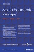Cover for Socio-Economic Review
