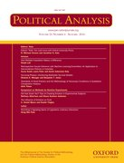 Cover for Political Analysis
